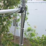 Détail de l'adaptation J-Pole (Stub 1/4 d'onde) de la colinéaire
