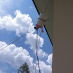 Balun 4:1 sur air pour delta loop filaire