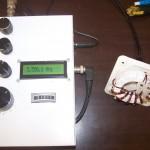 Mesure ANTAN du balun avec charge 200 ohms à 3,5 MHz