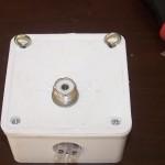Balun dans une boîte de dérivation électrique