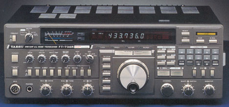 Yaesu FT-736R (picture from Universal Radio)