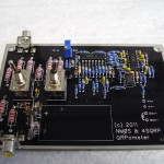 QRPometer montage fini sans LCD
