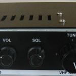 Récepteur VHF kit LRR200 (face avant)