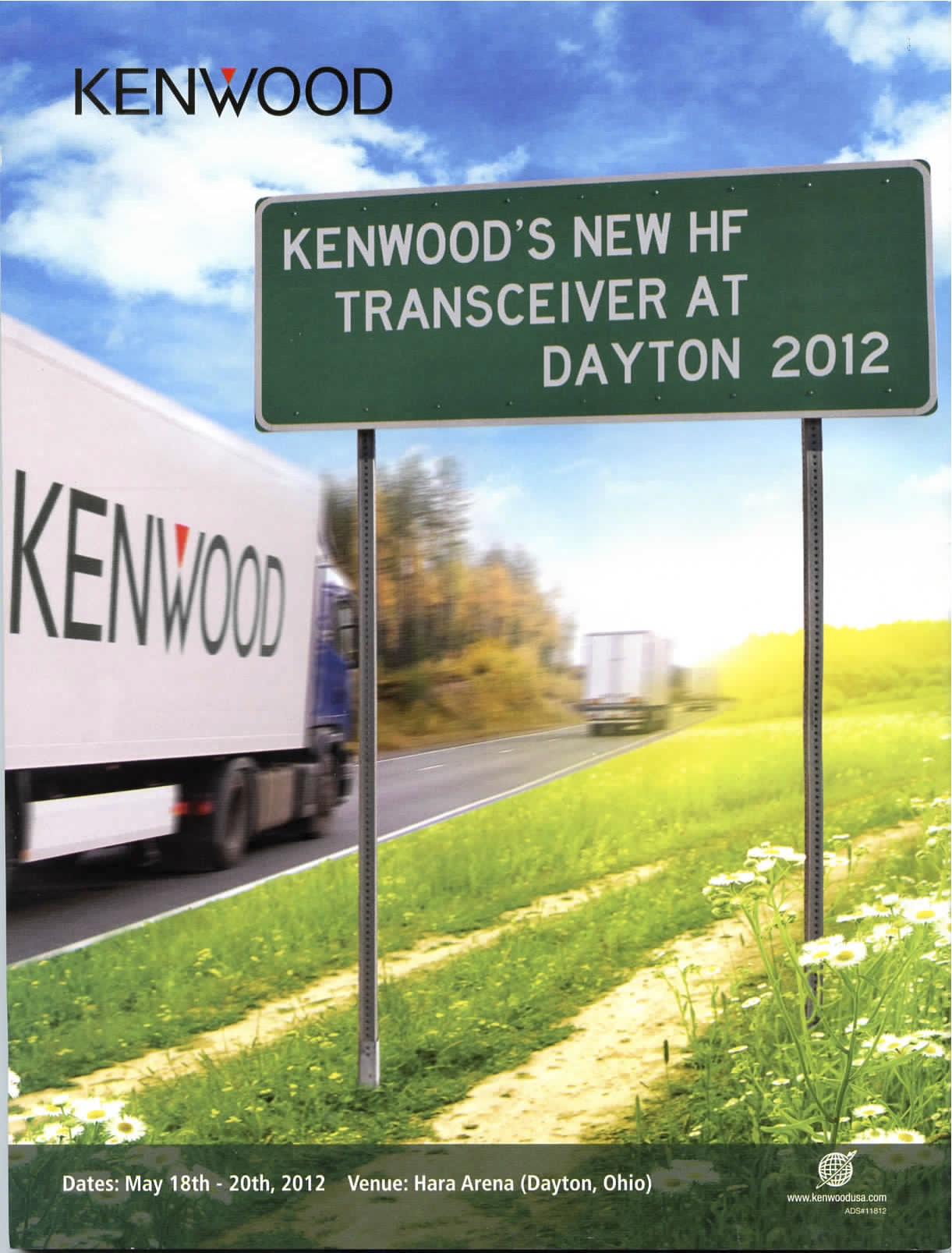 Quatrième de couverture QST Mai 2012 - Publicité pour Kenwood à Dayton