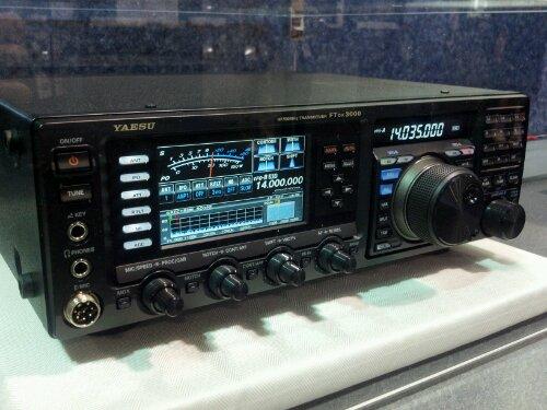 Yaesu FTDX-3000 à Dayton par K4SWL