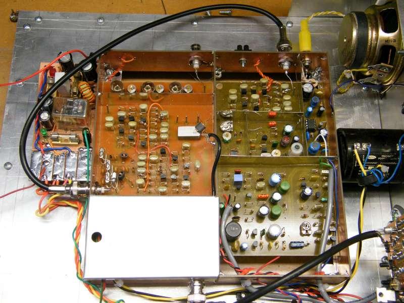Vue circuit BITX F8VOA