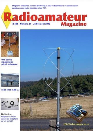 Couverture Radioamateur Magazine numéro 27