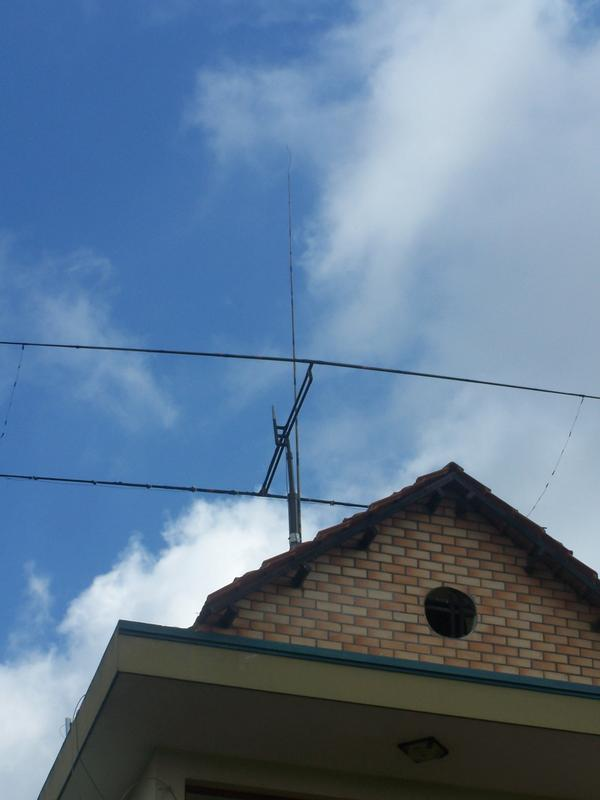 Antennes XV4Y Moxon 15-12-10m et GP 20-17-15-12-10m