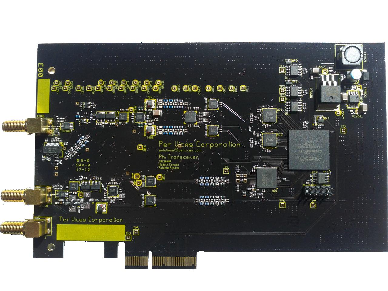 Carte PCI-Express SDR Phi