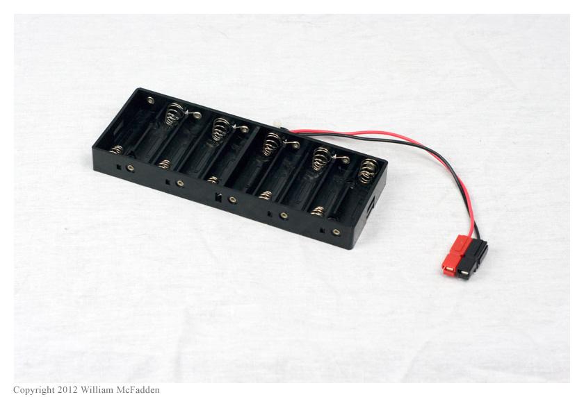 Porte-batterie 10 piles AA