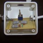 Indicateur de ROS à LED pour portable QRP
