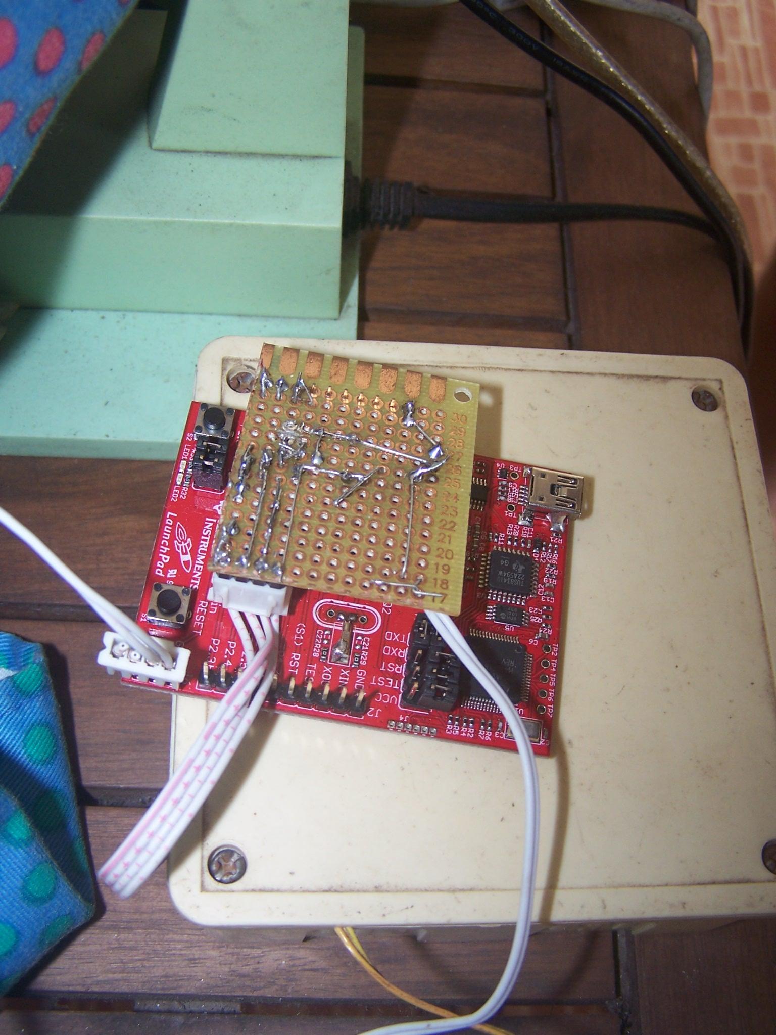 Générateur balise autonome WSPR LaunchPad MSP430