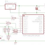 Schéma générateur balise autonome WSPR à MSP430