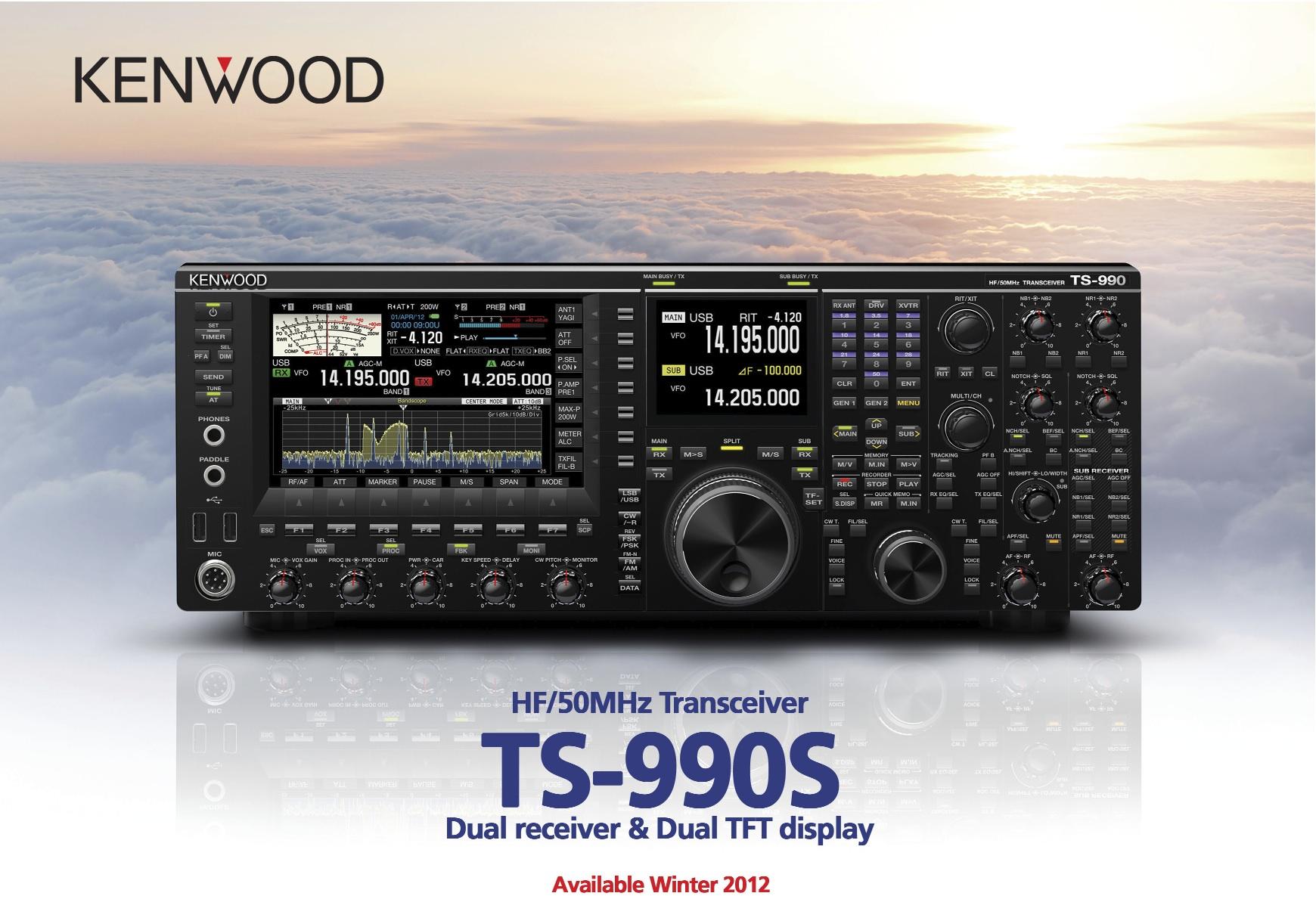 Extrait plaquette Kenwood TS-990s