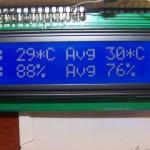Ecran Station météo Arduino