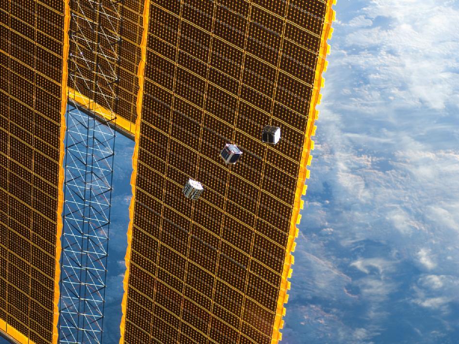 Cubesat F-1 en vol libre