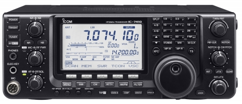 Icom IC-7410 vu de face