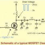 Amplificateur QRP en classe D, E et F
