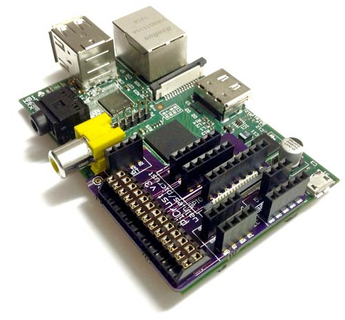 Pi Crust sur une carte Raspberry Pi