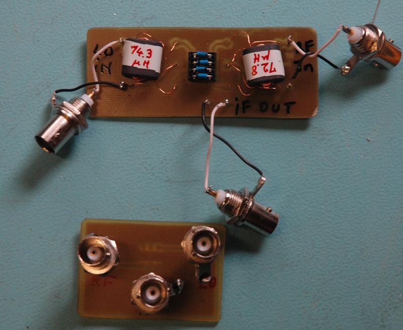Mélangeur équilibré à diodes