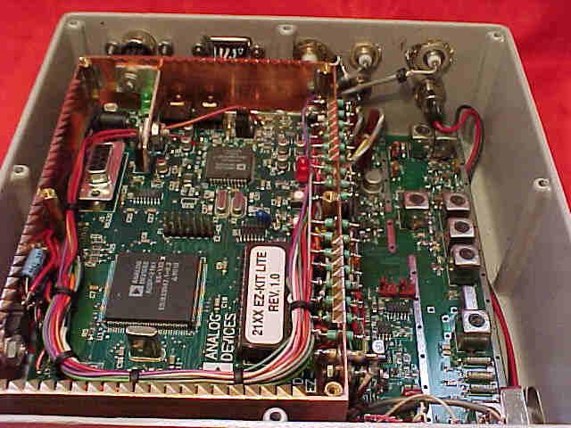 Transceiver DSP-10 vue interne