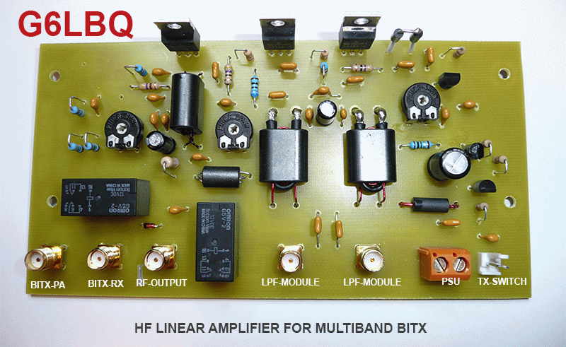 Amplificateur HF G6LBQ