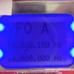 sVFO DDS AD9850 MSP430 XV4Y