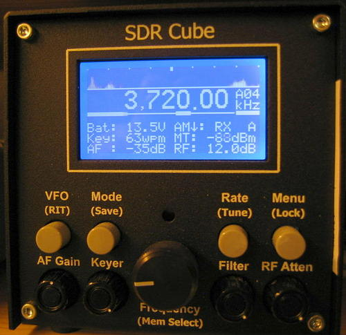 Réception Mdoulation d'amplitude SDR Cube