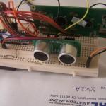 Mesure de distances avec un capteur ultrason et un Arduino