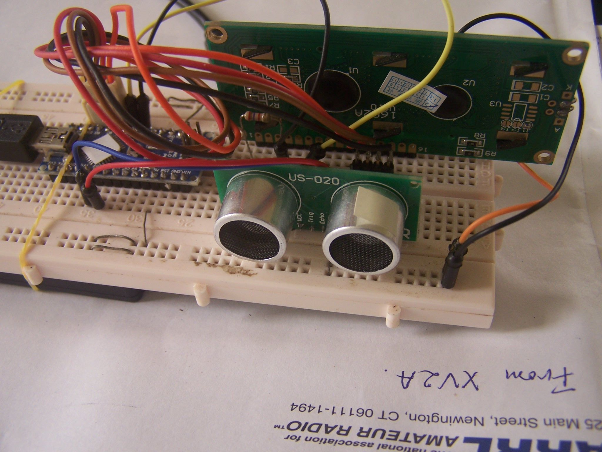 Capteur Ultrason Arduino XV4Y