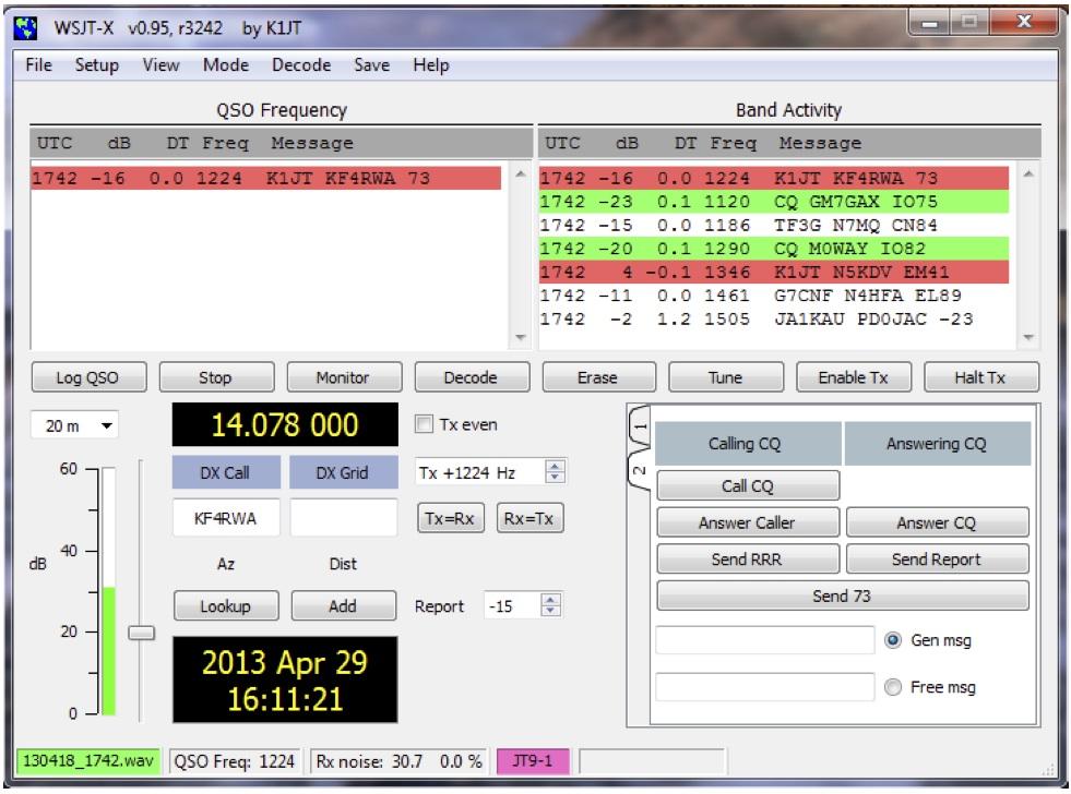 WSPR- X 0.95