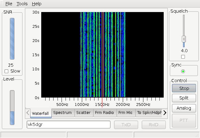 Interface FreeDV