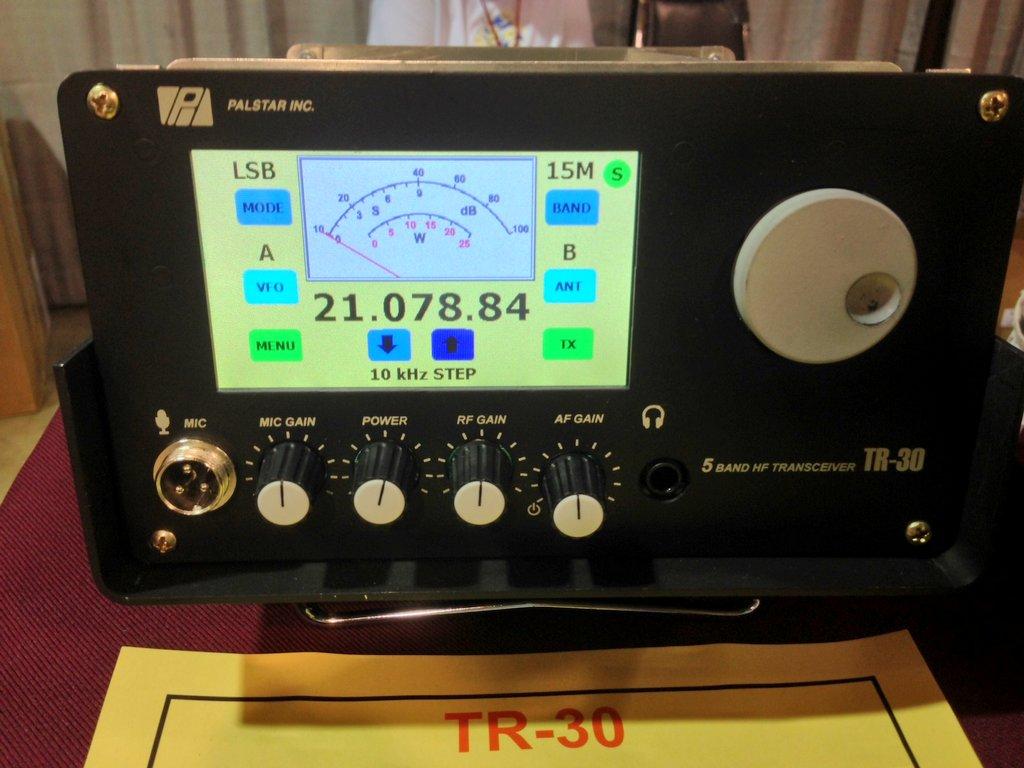 Transceiver HF Palstar TR-30, Photo par K4SWL qrper.com