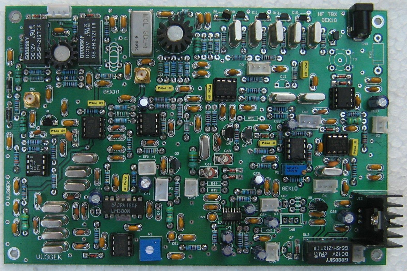 VU3GEK_KJ6LRR_GEK10 Transceiver HF