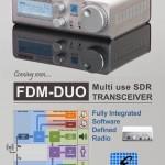 Nouveau transceiver SDR innovant par ELAD, le FDM-DUO