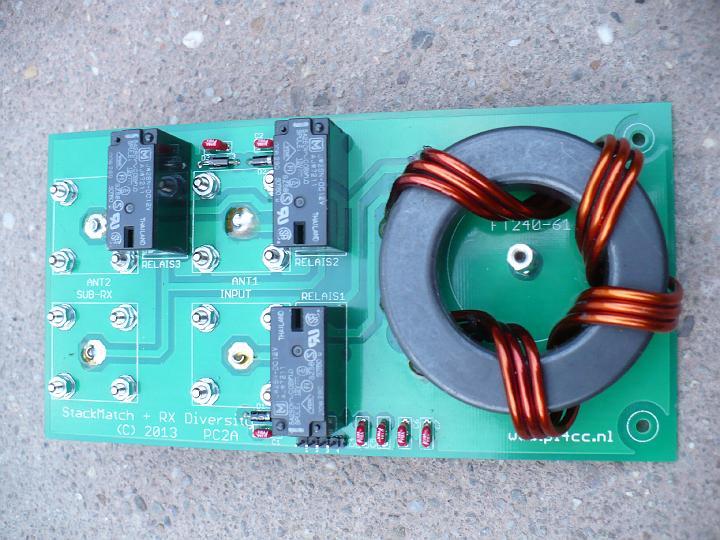 Filtre HF bidirectionnel PI4CC