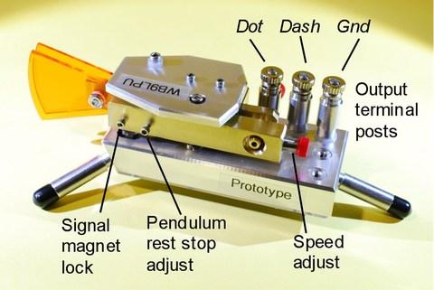 Vue arrière détaillée du WB9LPU Tiny Bug