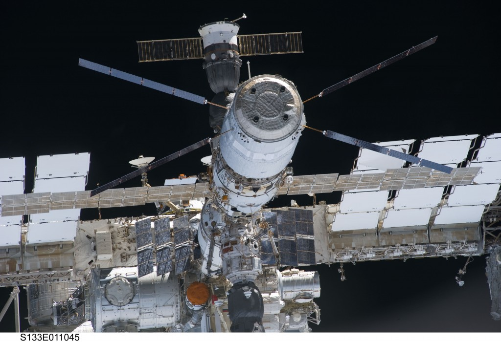 ISS_as_seen_from_Discovery (Credit ESA - Luca Parmitano Blog)