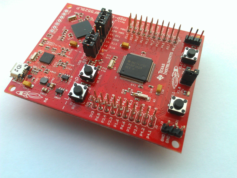 LaunchPad MSP430F5529 source 43oh.com