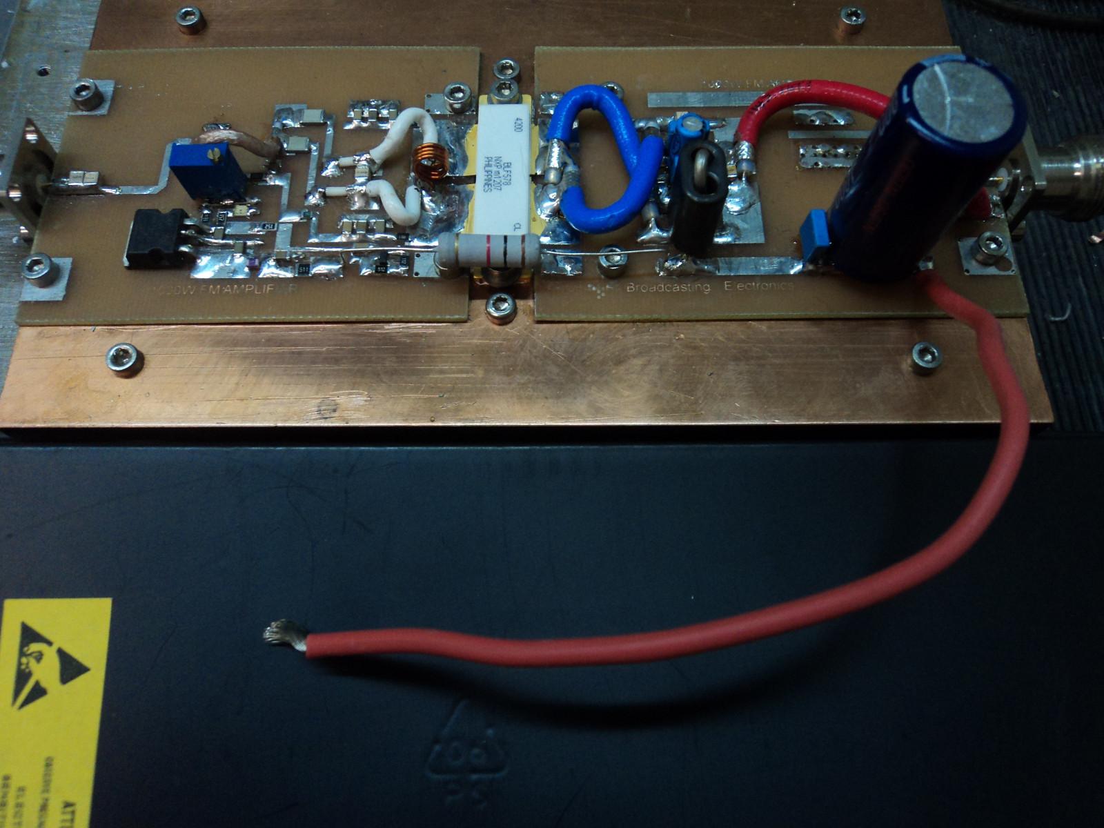 Ampli VHF BLF578 sur eBay