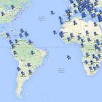 Punaises Virtuelles sur une carte des DXCC...
