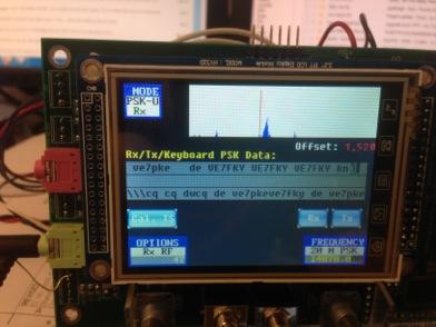 PSK sur le STM32-SDR