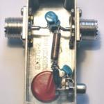Injection de courant continu sur une ligne coaxiale HF