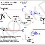 Manipulateur tactile sensitif avec IRF510 par M0UKD