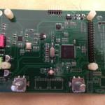 STM32-SDR dos carte principale