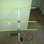 Antenne VHF mètre-ruban
