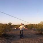 Comment W7YRV a levé deux pylônes de 60m de haut à la main