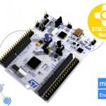 Une carte micro-contrôleur STM32 Nucleo F0 à 10$