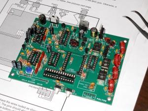 KD1JV MBDC composants installés, photo XV4Y