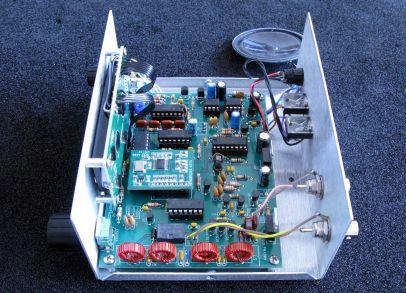 Intérieur MBDC KI4DS KD1JV Hendirkcs QRP Kits